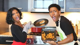 COOKING WITH DK4L   FANCY MEALS