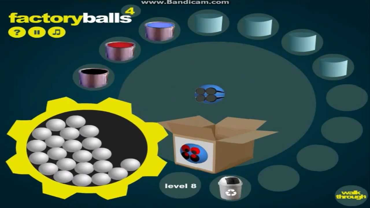 how to pass level 6 on factory balls 4
