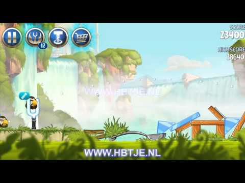 Angry Birds Star Wars 2 Naboo Invasion b1-2 3 stars