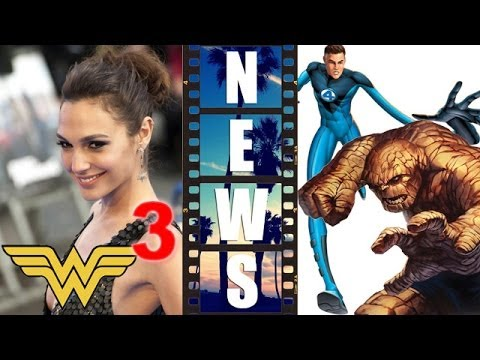Gal Gadot Wonder Woman Solo Movie, Fantastic Four 2015 Origin - Beyond The Trailer