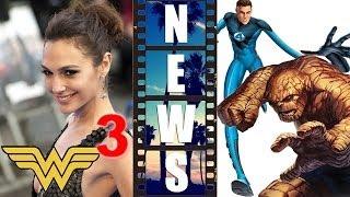 Gal Gadot Wonder Woman Solo Movie, Fantastic Four 2015