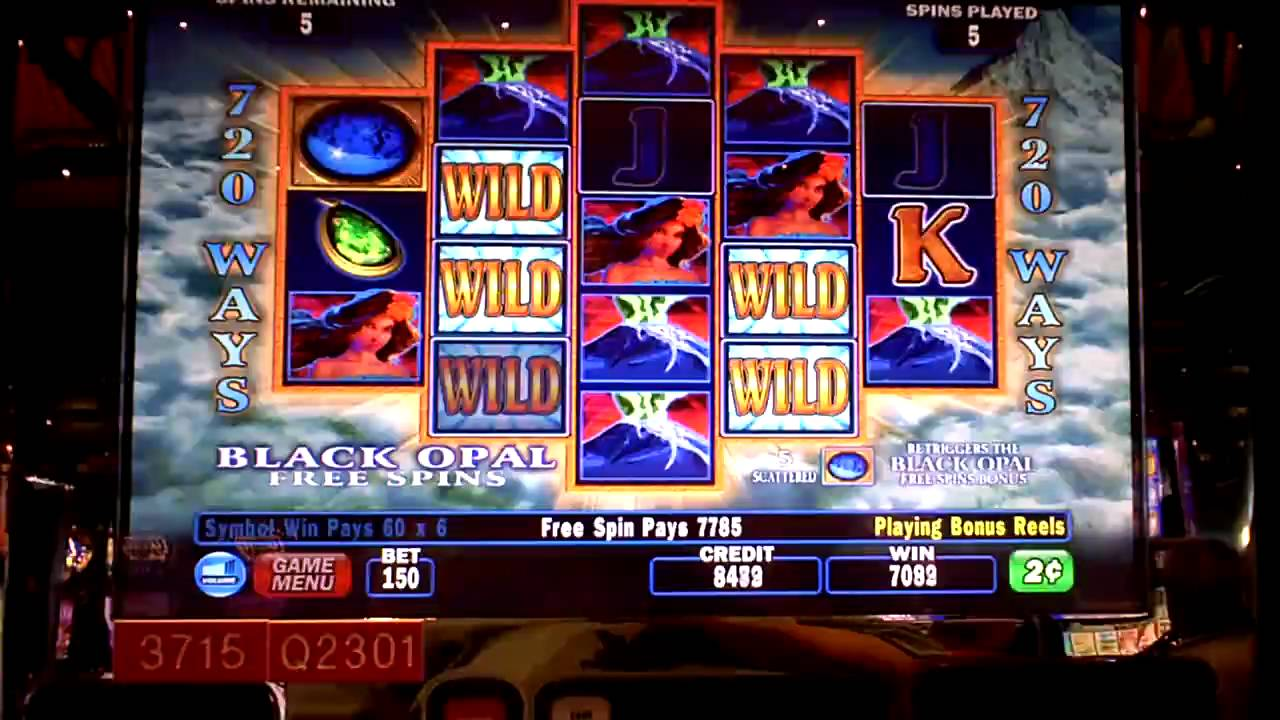 fire and opals slot machine