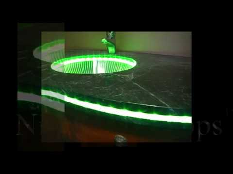Quot Nightlight Tops Quot Countertops By Crafted Countertops