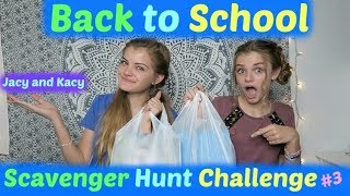 Back to School 2017 ~ Dollar Store Scavenger Hunt Challenge ~ Jacy and Kacy