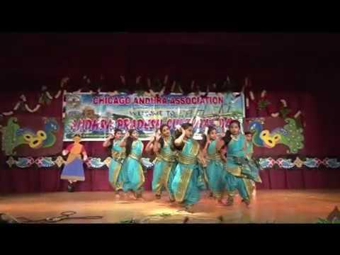 CAA - AP Cultural Festival - Oct 16th 2016 -   Item-7 - AndhraJanapadaNrutyam