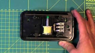 Funcionamiento de un timbre eléctrico