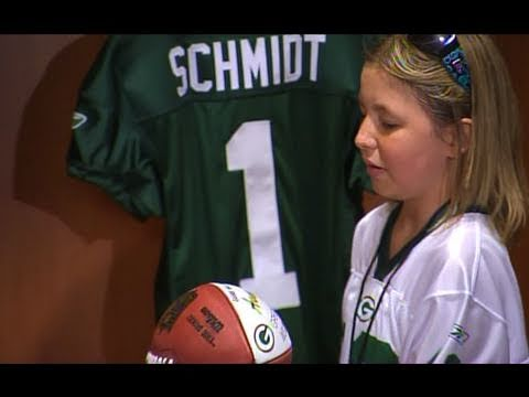 My Wish: The Green Bay Packers Add Anna to the Team