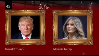 Chân dung các vị tổng thống và phu nhân Hoa Kỳ