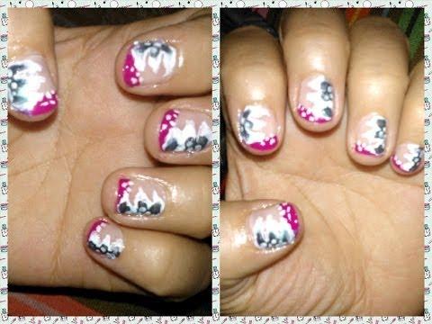Manicure Facil   Flores