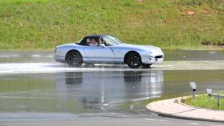 TVR CHimaera Drift training