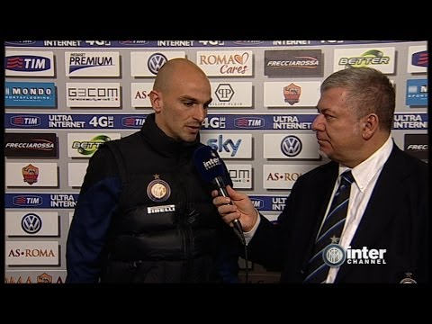 INTERVISTE POST PARTITA ROMA-INTER