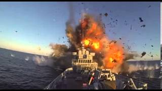 Norwegian military blows up a frigate