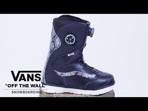 Vans Aura BOA Womens Snowboard Boots Port - Antique 2016