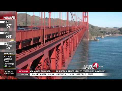 Suicide Barrier Likely to be Approved for Golden Gate Bridge