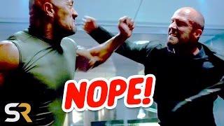 10 Actors Who Refused Stunt Doubles!