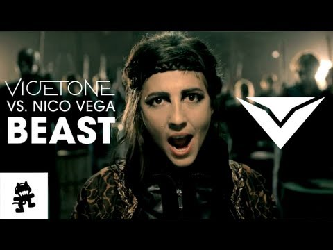 Vicetone vs. Nico Vega - Beast [Monstercat Official Music Video]