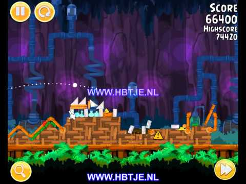 Angry Birds Short Fuse 25-3 3 stars