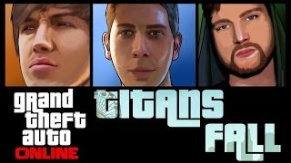 Grand Theft Auto 5 Online TITANS FALL