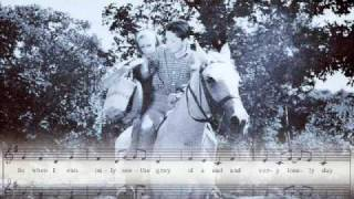 THE WHITE HORSES TV THEME By JACKY With Jackie's Lee's