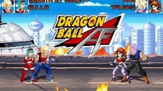 Dragon Ball AF M.U.G.E.N (2013 Update) Vegeta And Bulla