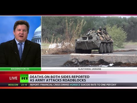 Civil War? 'Ukraine govt using military against own citizens'