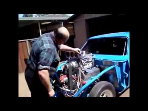 FORD 341 - 408 Cleveland Blown Methanol   Speedmaster™ video by Procomp Electronics