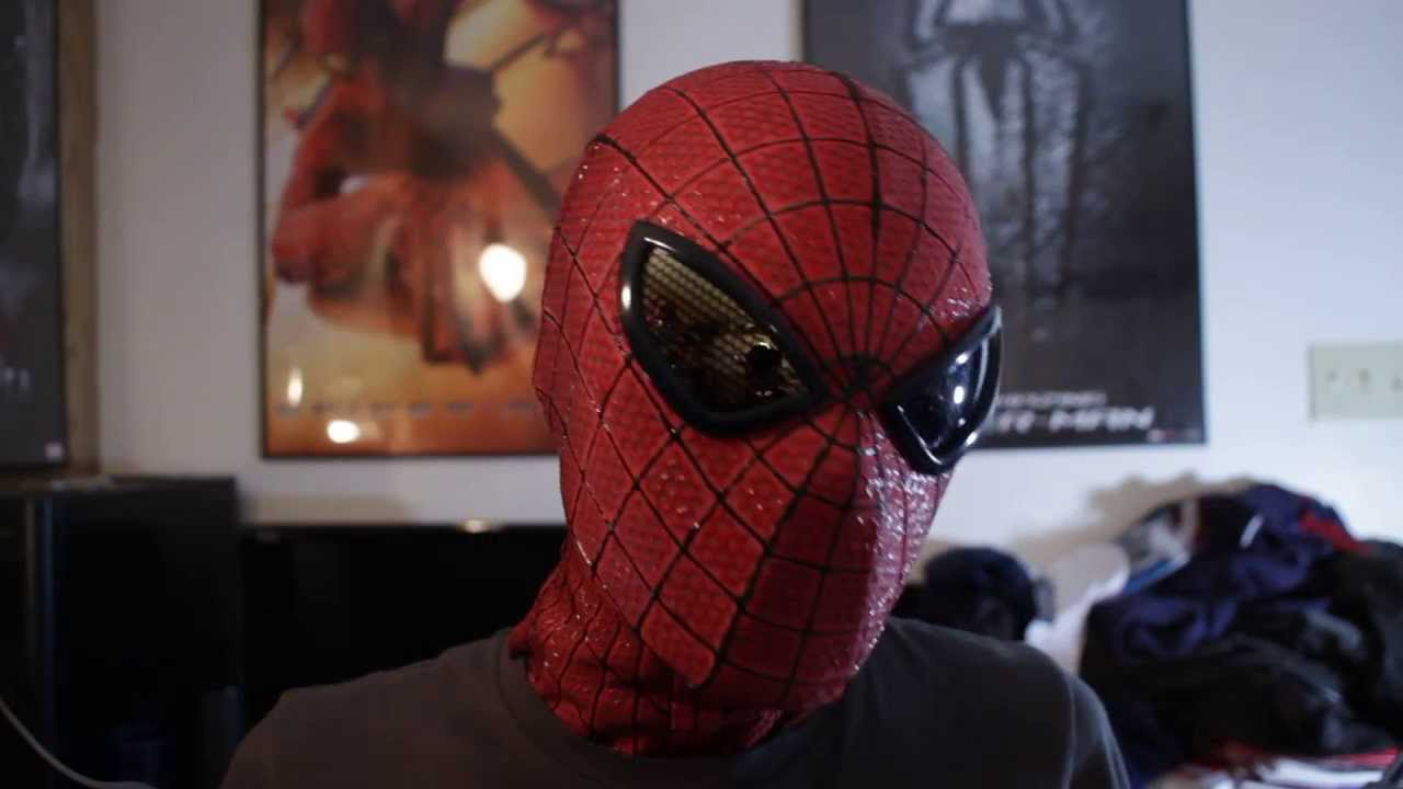 The Amazing Spider-Man Replica Mask - YouTube