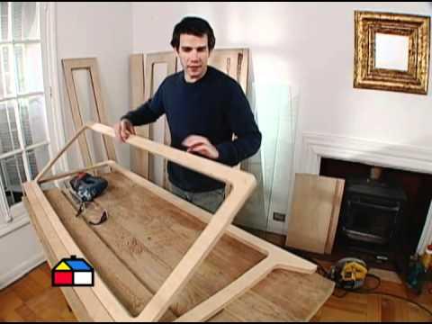 C mo hacer una vitrina youtube - Como lacar un mueble de madera ...