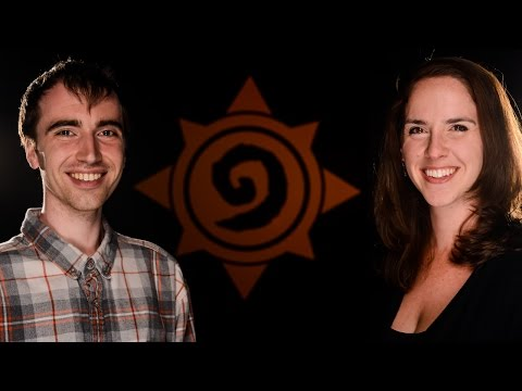 BlizzCon 2016: Hearthstone Interview with Rachelle Davis and Peter Whalen