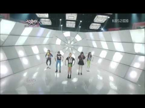 120615 F(x) - Electric Shock [KBS music bank Comeback stage]