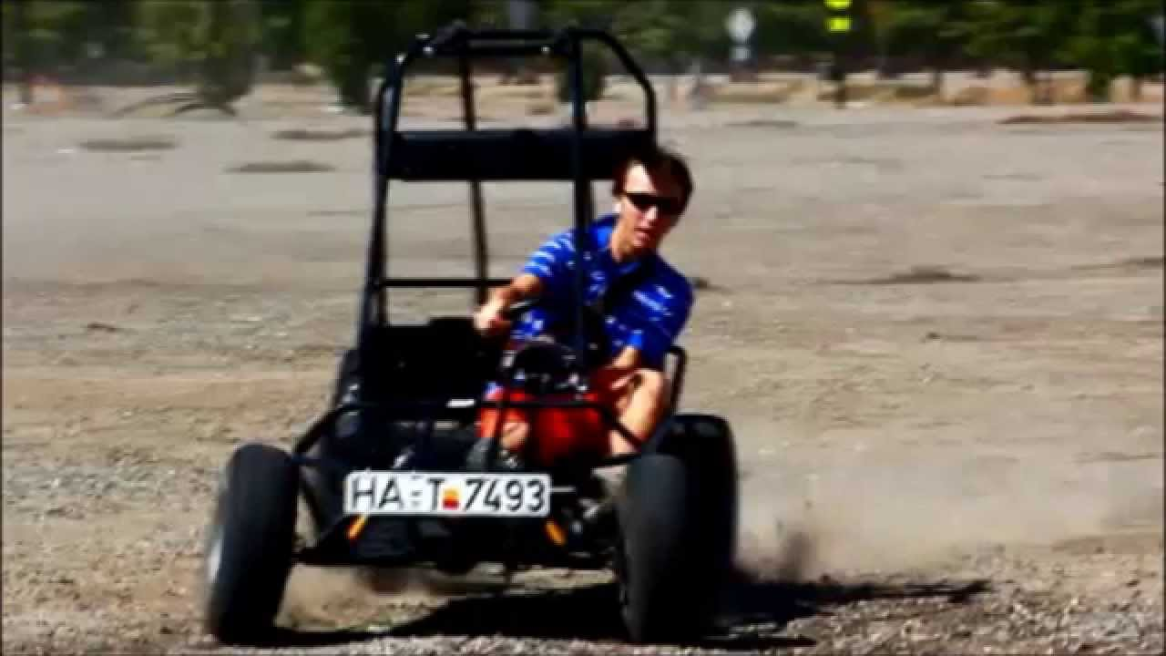 25 HP Engine Go Kart