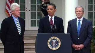 Presidents Obama, Bush, & Clinton: Help for Haiti
