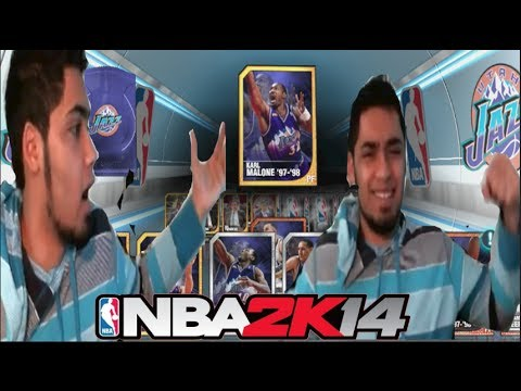 NBA 2k14 PS4 MyTEAM - Historic Pack Opening FaceCam! Utah Jazz! STG Gets an ASSIST! 150k VC!