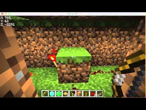 tutorial: Minecraft Tutorials: Arrow Activated Door