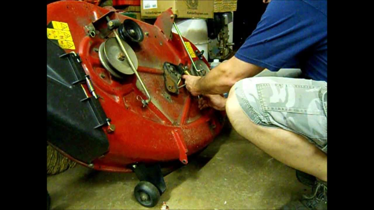 Mower Belt Tensioner Repair Amp A Question To The Garage