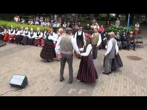 """00195 Ogres Danču Klubs folkloras festivāla """"Baltica 2015"""" ieskaņas sarīkojums Ogrē 27.06.2015"""