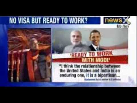 US ready to work with Narendra Modi, visa not an issue, says Officials - NewsX
