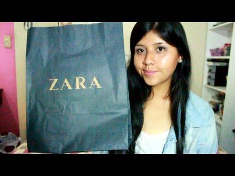 Haul compras de Zara, pull & bear, ripley y otros - Lima y Quito