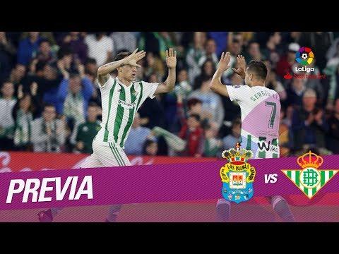Previa UD Las Palmas vs Real Betis