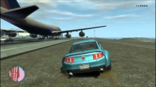Ford Mustang GT 500 Cobra In Gta IV Game Play