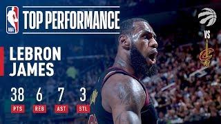 LeBron James' Dominant Performance & Buzzer Beater vs Toronto