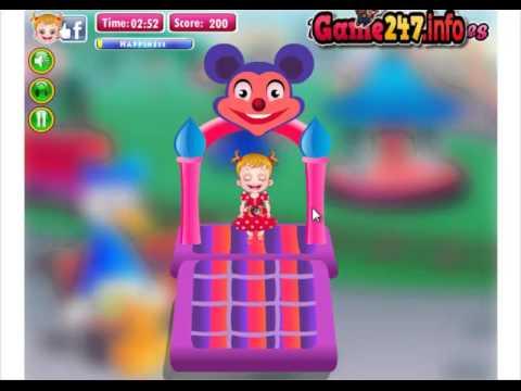 Chơi Game bé Hazel đi công viên Disneyland (Baby Hazel In Disneyland)