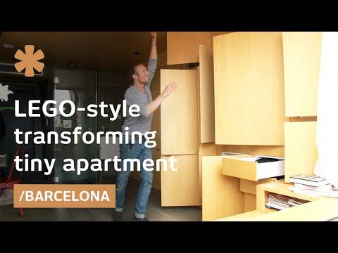 Си купил стан од 24 квадрати на покривот од зградата за да го претвори во нешто неверојатно