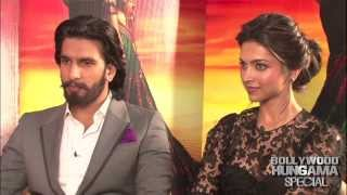 Ranveer Deepika BREAK Silence On Ram Leela Controversy