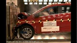Chevy Sonic 2012 Frontal Crash Test NHTSA