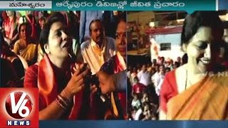 Jeevitha Rajasekhar Face to Face -GHMC Election Campaign in RK Puram