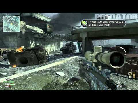 AMAZING SNIPER LIVE COMMENTARY! | OpTic Predator | Mw3 Modern Warfare 3
