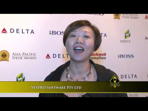 SYSPRO Software Pty Ltd wins at the 2014 Asia-Pacific Stevie Awards