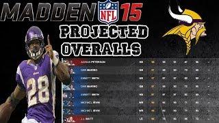 Minnesota Vikings Madden 15 Ratings