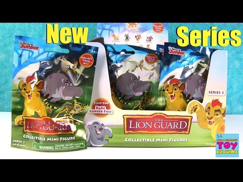 Disney Junior Lion Guard Series 3 Blind Bag Toy Review Opening | PSToyReviews